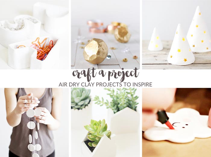 Craft A Project | 6 Air Dry Clay projects to inspire