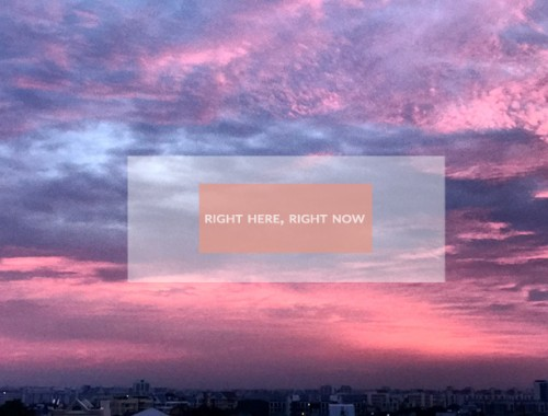 Right Now #004-2017
